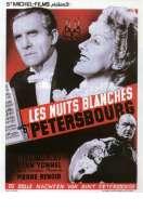 Affiche du film Les nuits blanches de Saint-Petersbourg