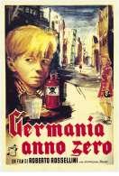 Affiche du film Allemagne ann�e z�ro