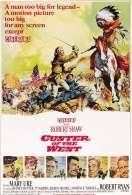 Affiche du film Custer l'homme de l'ouest