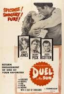Affiche du film Duel au soleil