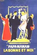 Affiche du film Papa Maman la Bonne et Moi