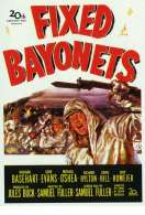 Affiche du film Ba�onnette au canon
