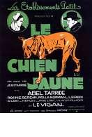 Affiche du film Le Chien Jaune