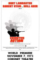 Affiche du film Executive action