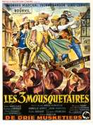 Affiche du film Les trois Mousquetaires