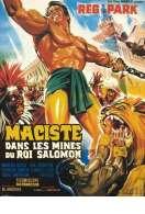 Affiche du film Maciste dans les Mines du Roi Salomon