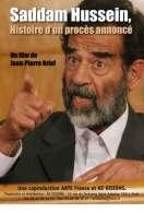 Affiche du film Saddam Hussein, histoire d'un proc�s annonc�