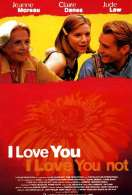 Affiche du film I love you, I love you not