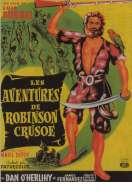 Affiche du film Les aventures de Robinson Cruso�