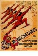 Affiche du film Les trois mousquetaires : les ferrets de la Reine
