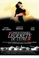 Affiche du film L'insoutenable l�g�ret� de l'�tre