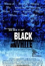Affiche du film Black and white