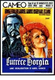 Affiche du film Lucrèce Borgia