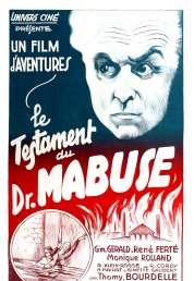 L'affiche du film Le testament du Docteur Mabuse