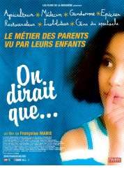 Affiche du film On dirait que...