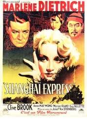 Affiche du film Shanghai Express