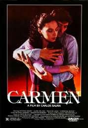 L'affiche du film Carmen