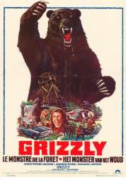 Affiche du film Grizzly le Monstre de la Foret