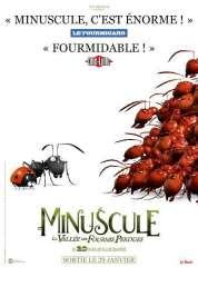 L'affiche du film Minuscule - La vall�e des fourmis perdues