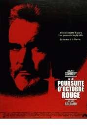 Affiche du film A la poursuite d'octobre rouge