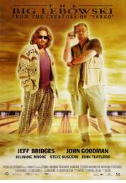 L'affiche du film The big Lebowski