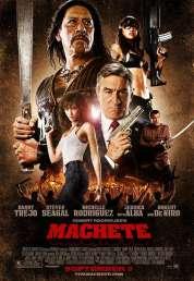 L'affiche du film Machete