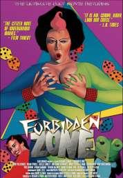 Affiche du film Forbidden zone