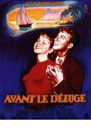 Affiche du film Avant le Deluge