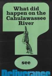 L'affiche du film Délivrance