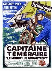 Affiche du film Capitaine téméraire