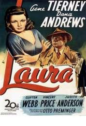 L'affiche du film Laura
