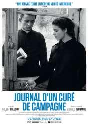 Affiche du film Journal d'un curé de campagne