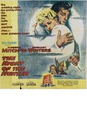 L'affiche du film La nuit du chasseur
