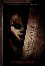 L'affiche du film Annabelle 2 : la Création du Mal