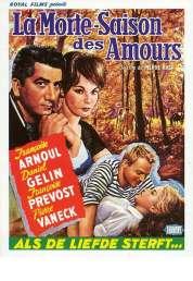 Affiche du film La morte saison des amours