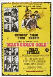 Affiche du film L'or de Mackenna