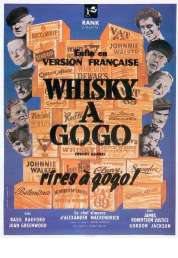 Affiche du film Whisky à gogo