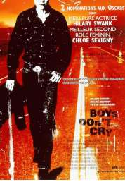 Affiche du film Boys don't cry