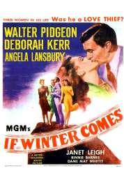 Affiche du film Quand Vient l'hiver