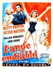 Affiche du film L'ange Endiable