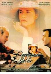 Affiche du film L'ecrivain Public