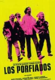 Affiche du film Los porfiados (les acharnés)