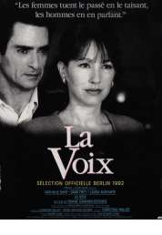 Affiche du film La voix