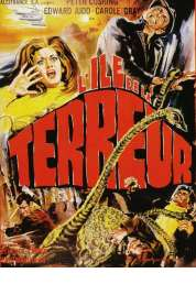 Affiche du film L'île de la terreur