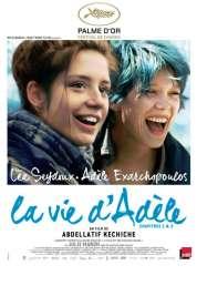 L'affiche du film La Vie d'Adèle - Chapitres 1&2