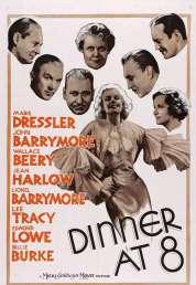 Affiche du film Les Invites de Huit Heures
