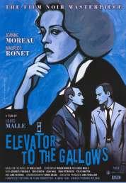 Affiche du film Ascenseur pour l'échafaud