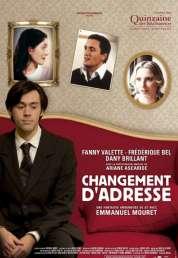Affiche du film Changement d'adresse