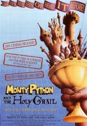 L'affiche du film Monty Python : sacré Graal