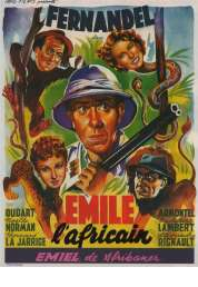 Affiche du film Emile l'africain